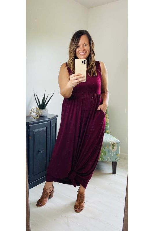 Summer Dreams Sleeveless Maxi Dress