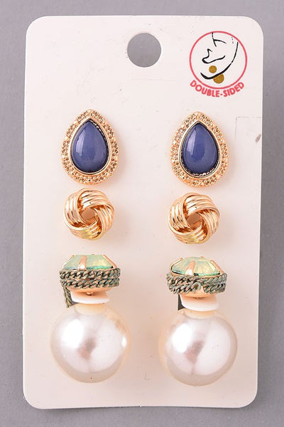 Classic and Classy Earring Set - bohopretty.com