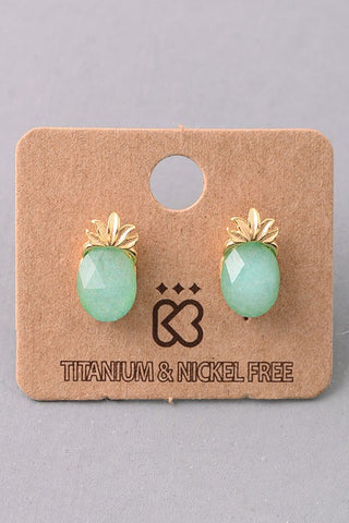 Pineapple Under the Sea Earrings