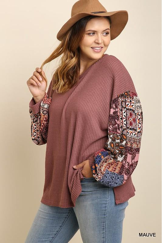 Feel Good Top, Puff Sleeves, Paisley, Fashion, Boho Pretty