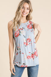 Meet Me For Brunch Floral Top
