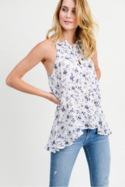 Blue Bonnet Top - bohopretty.com