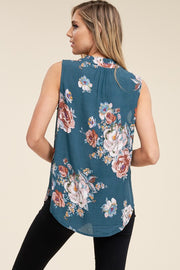 Meet Me In The Garden Floral Top