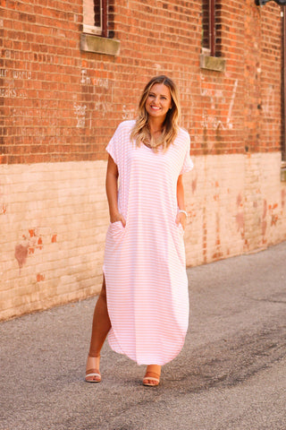 Summer Everything Dress- Blush
