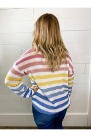 April Multi-Stripe Top