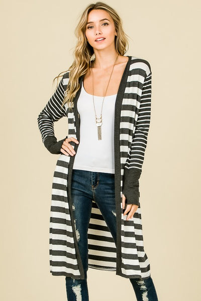 Girl Next Door Lightweight Maxi Cardigan
