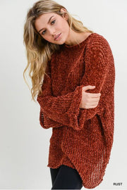 Wild Rust Sweater
