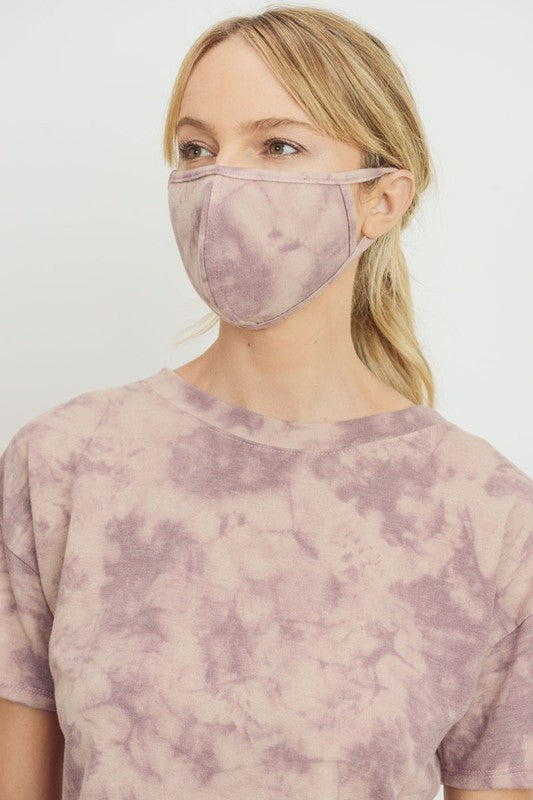 Tie Dye Social Distancing Face Mask