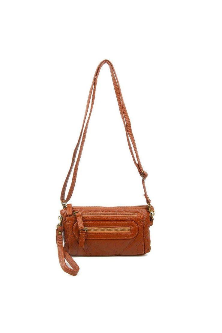 anita three way crossbody brown