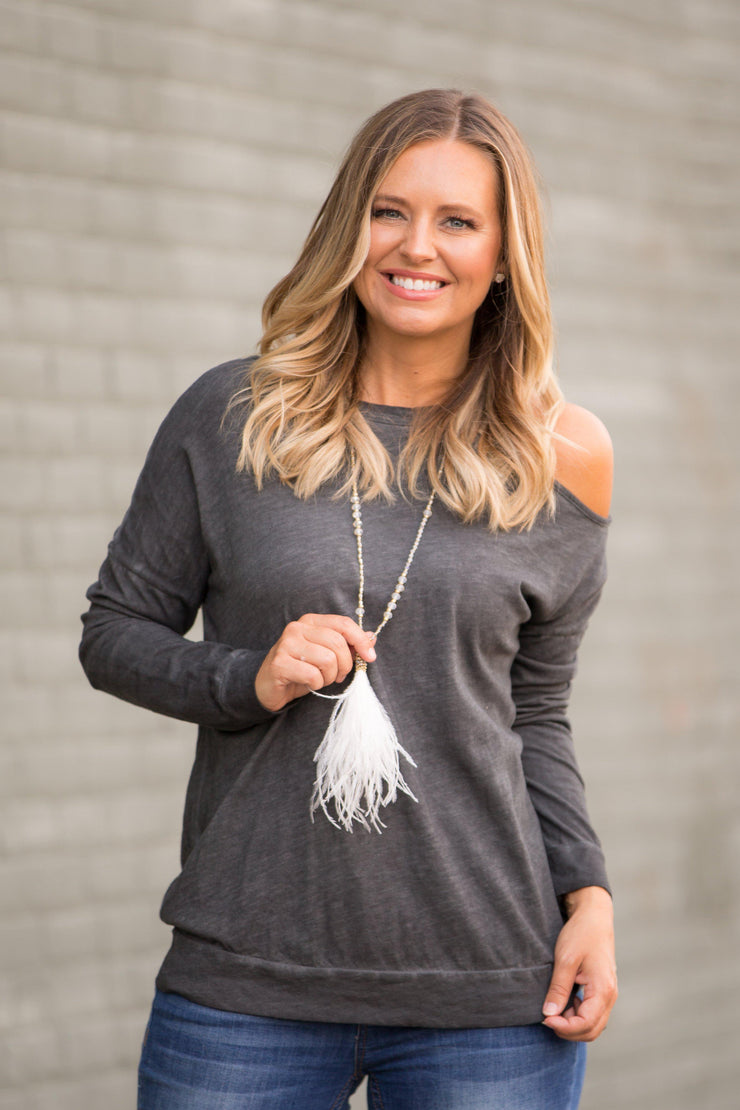 Feathered and Fancy Necklace