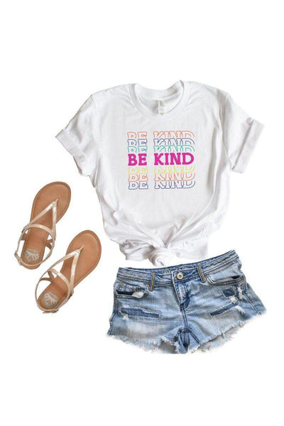 Be Kind Tee - bohopretty.com
