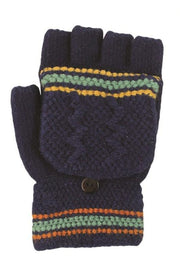 Teal Blue fingerless gloves boutique
