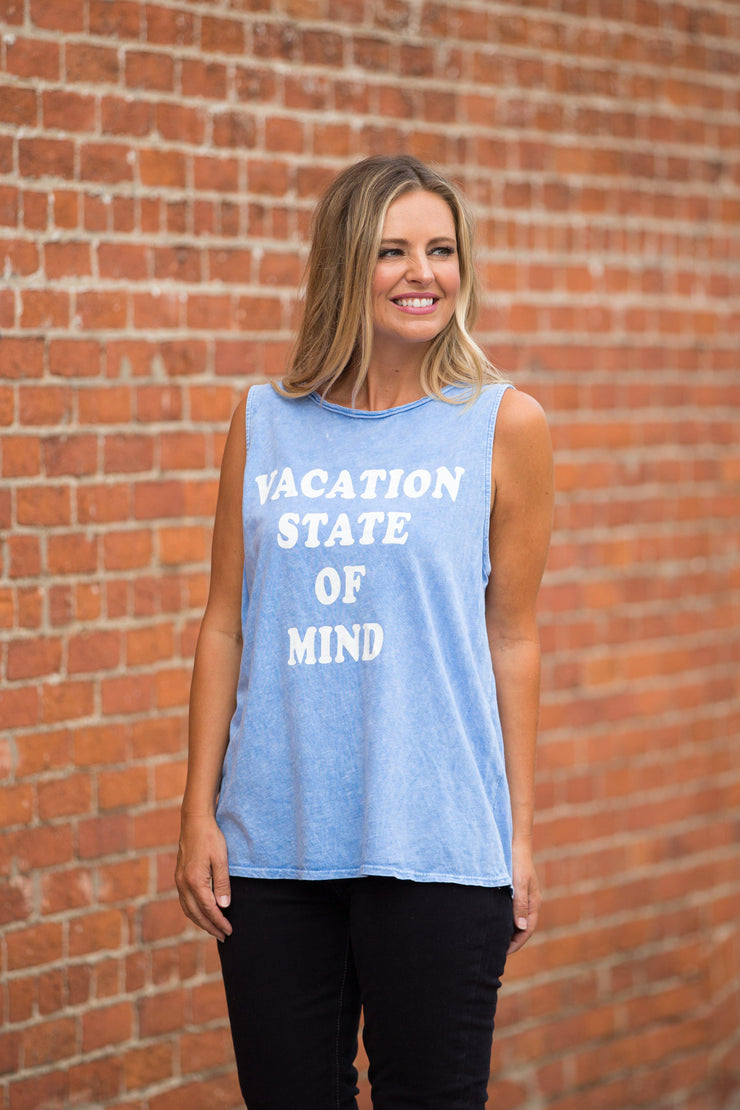 Vacation State of Mind Tank