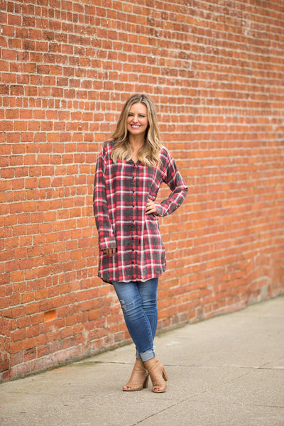 All Things Flannel Tunic