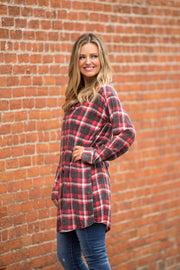 All Things Flannel Tunic - bohopretty.com