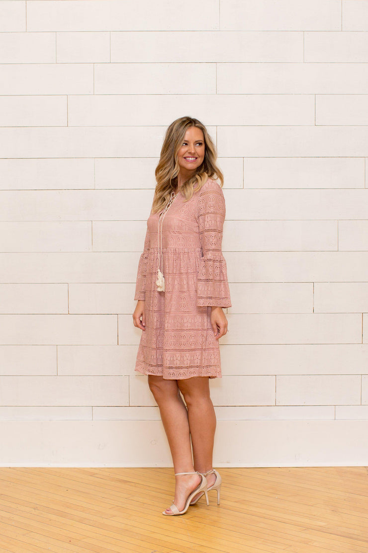 All Laced Up Dress - bohopretty.com