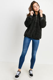 Everyday Teddy Zip-Up Pullover. So Comfy and Great For the Colder Months.