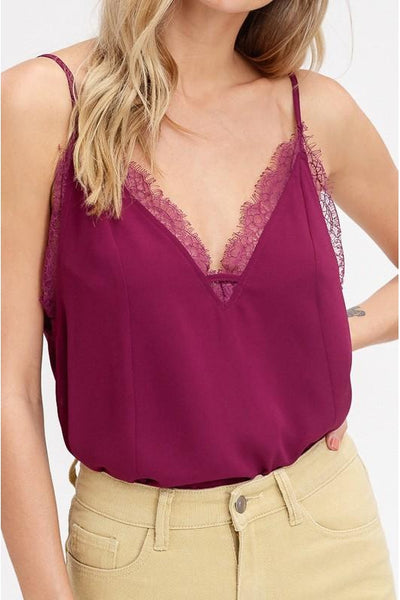 camisole, chiffon, wine, lace, womens fashion, boho pretty.jpg