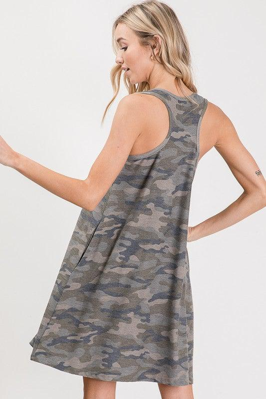 You're The One Camo Dress