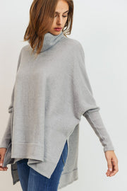 Cherish Turtleneck Cowl Neck Tunic Boutique Boho Pretty
