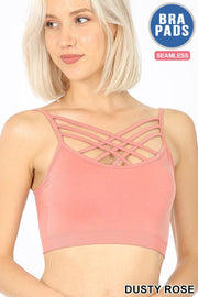 criss cross bralette boho pretty boutique online womens clothing