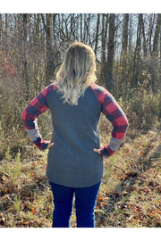 IMG_0140buffalo check stripe waffle fleece boho pretty fall winter womens boutique clothing