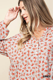 grey floral, top, long sleeve, boho pretty, womens fashion 3.jpg