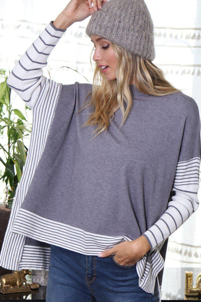 Orchard Poncho Top