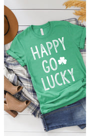 Go Lucky Kelly Green Tee For Your St.Patrick's Tee.   Or If You're Local in Irish Country   PERFECT FOR GAME DAY! boho pretty boutique