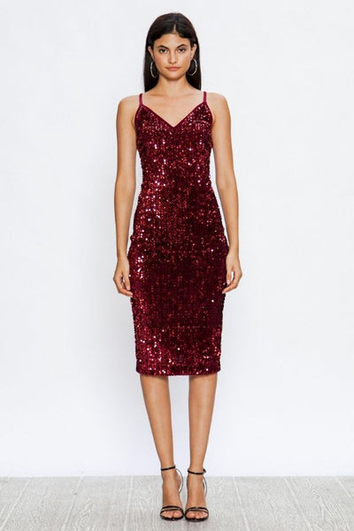 holiday dress, sequin, burgundy, bodycon, womens fashion, boho pretty.jpg