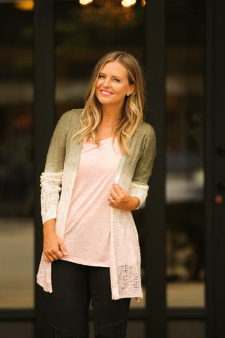 Ombre Love Cardigan