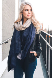 navy, ombre, scarf, two tone, boho pretty, womens fashion.jpg
