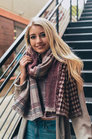 patchwork, blanket scarf, fall vibes, womens fashion, boho pretty, burgundy.jpg