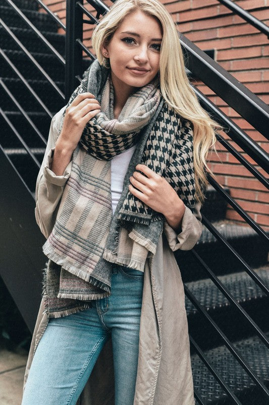 patchwork, blanket scarf, fall vibes, womens fashion, boho pretty, green.jpg