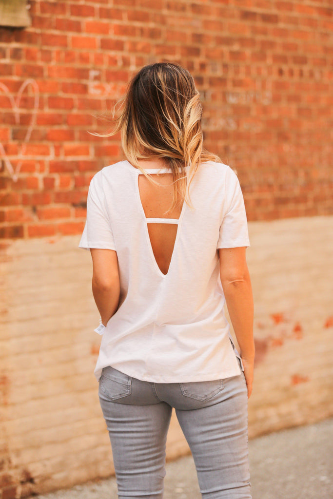 Your New Fave Tee in White