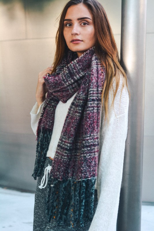 soft, tassel, blanket scarf, berry, accessories, boho pretty, womens fashion.jpg