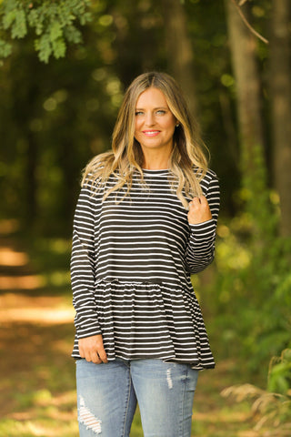 Stripes in my Step Top