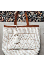 woven boho cream shoulder bag boho pretty boutique online women accessories