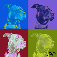 Load image into Gallery viewer, Four Square Pop Pet Art