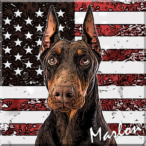 Patriotic Pet Art