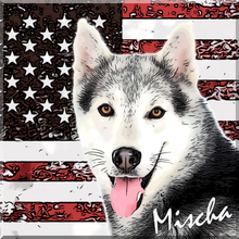 Load image into Gallery viewer, Patriotic Pet Art
