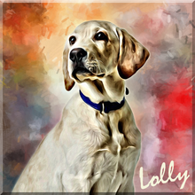 Load image into Gallery viewer, Oil Paint Pet Art