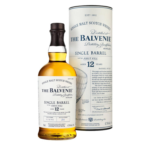 Balvenie 12 Year Old Single Barrel (750ml)