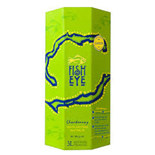 Fish Eye Chardonnay, South Eastern Australia, 2015 (3L BOX)
