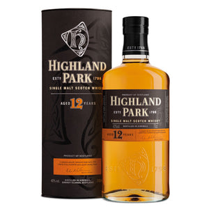 Highland Park 12 Year Old Single Malt Scotch Whisky (750ml)
