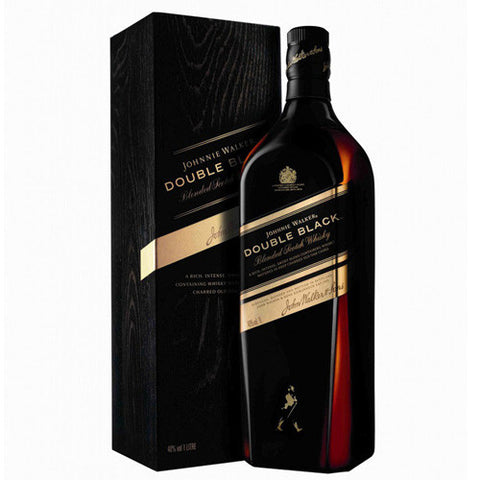 Johnnie Walker Double Black Blended Scotch Whisky (750ml)