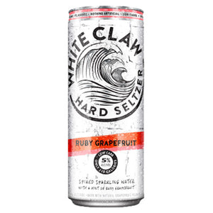White Claw Ruby Grapefruit Hard Seltzer (6pk 12oz cans)