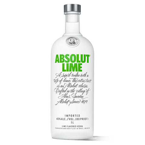 Absolut Lime Vodka (750ml)