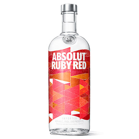 Absolut Ruby Red Vodka (750ml)