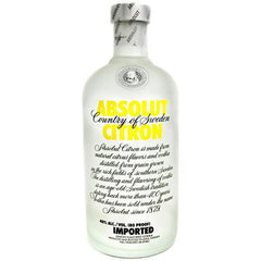 Absolut Citron Vodka (1.75L)